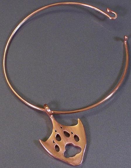 Swandog Print Charm, Bracelet by swandog