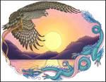 Hawk and Dragon