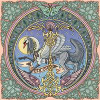 Mandala Intro Graphic