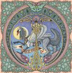 Mandala Intro Graphic by swandog