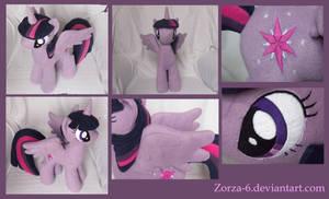 Twilight sparkle alicorn details by Zorza-6