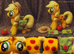 Applejack with saddle bags