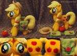 Applejack with saddle bags