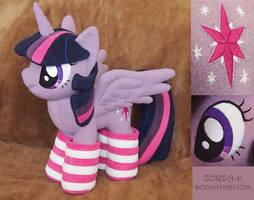 Plush Princess Twilight Sparkle by Zorza-6