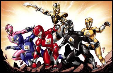 We Are the Power Rangers Print