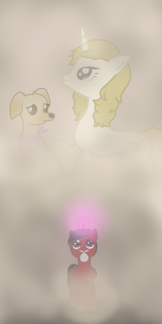 Mark in the fog by LucyNyuElf
