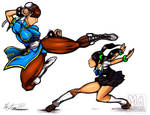 Chun li vs ling xiaoyu
