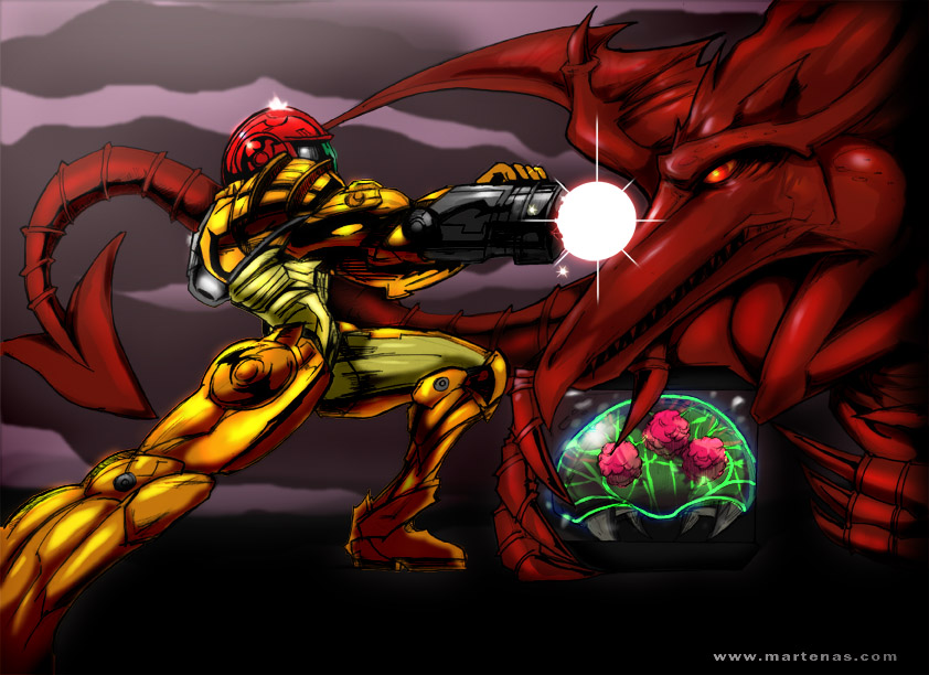 Super Metroid by martenas