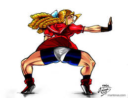 Street Fighter Alpha's: Karin by martenas