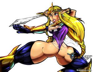 Hyrule Warriors: Zelda ... Warrior Princess by martenas