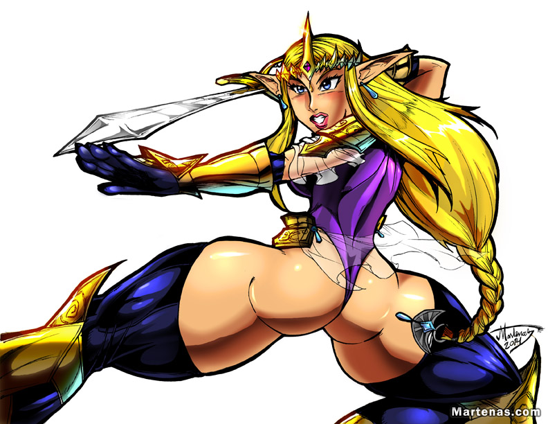 Hyrule Warriors: Zelda ... Warrior Princess by martenas