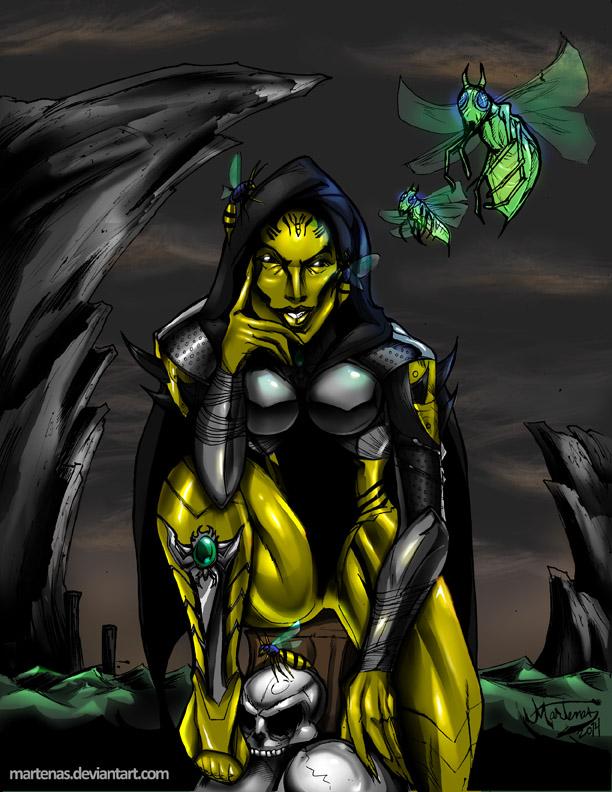 D'Vorah (MortalKombat-X) by martenas