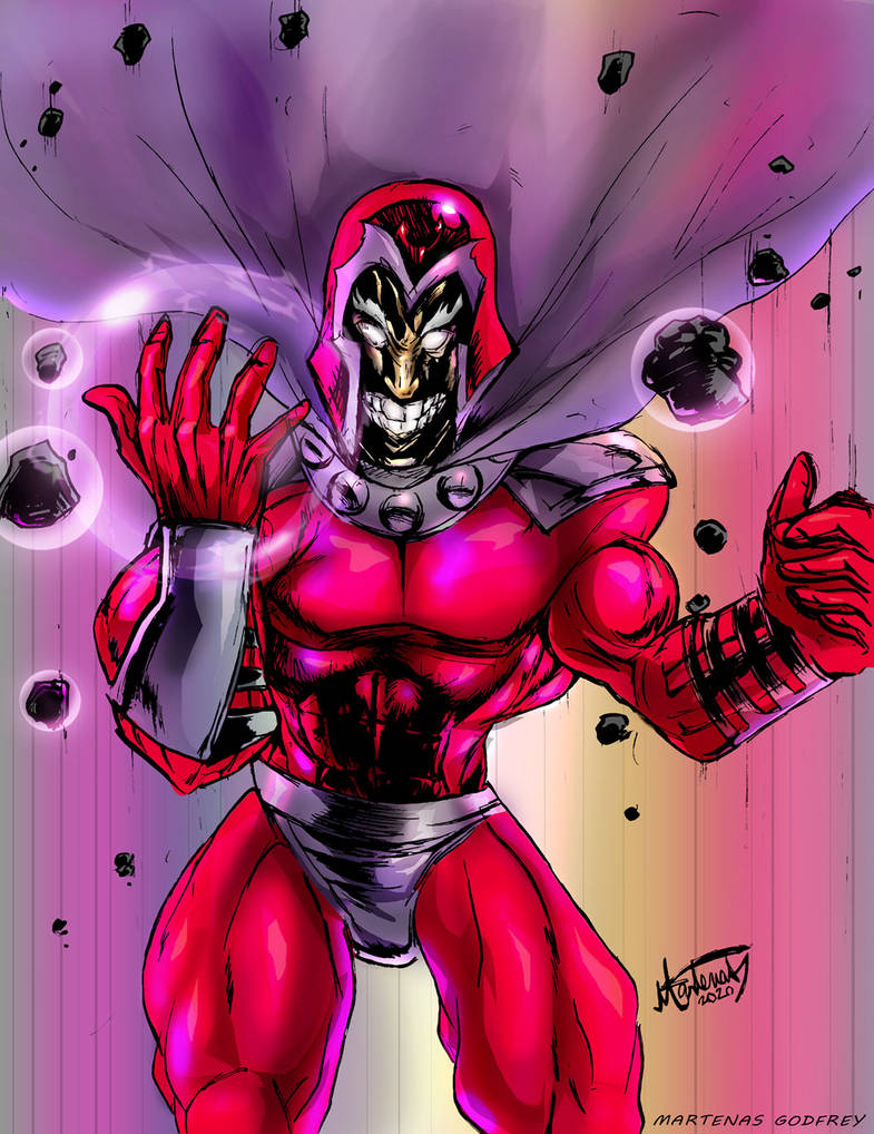 Magneto the master of Magnetism!