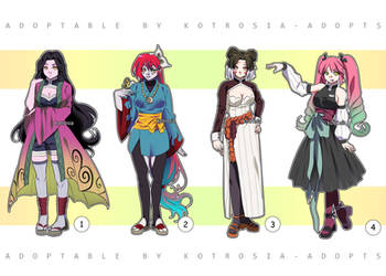 [CLOSED] Demon Slayer Adoptables Set Price #42 by Oreenee