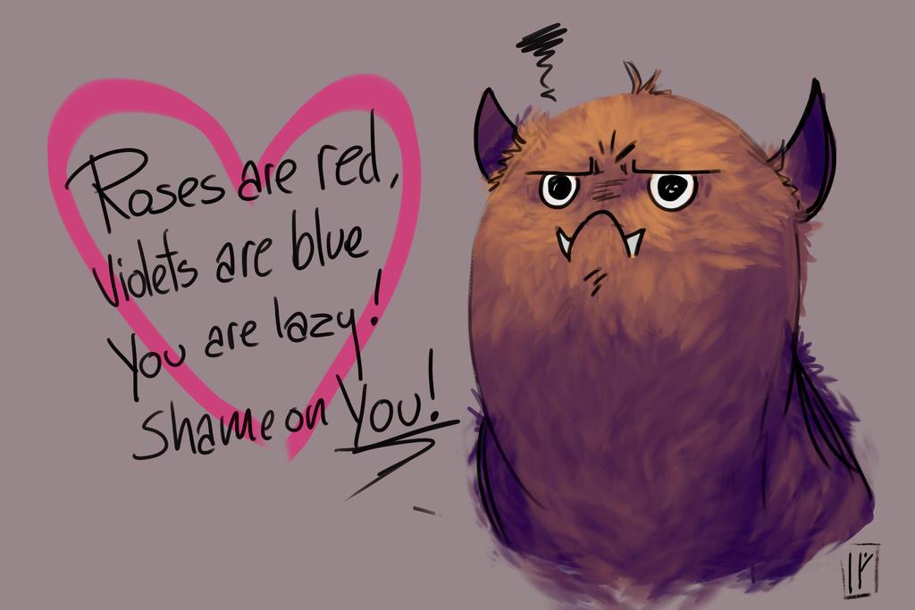 To myself on Valentines Day by PanzerTheTank