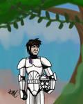 Clone trooper glitch.