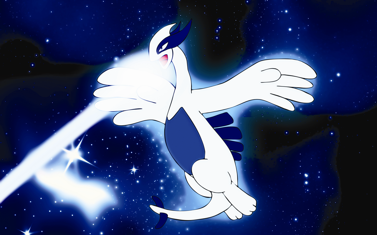 lugia,s pure energy by Elsdrake