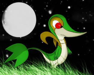 Leaf snake,Tsutaaja by Elsdrake