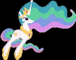 Princess celestia by Elsdrake