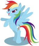 Rainbow Dash 'bring it on'
