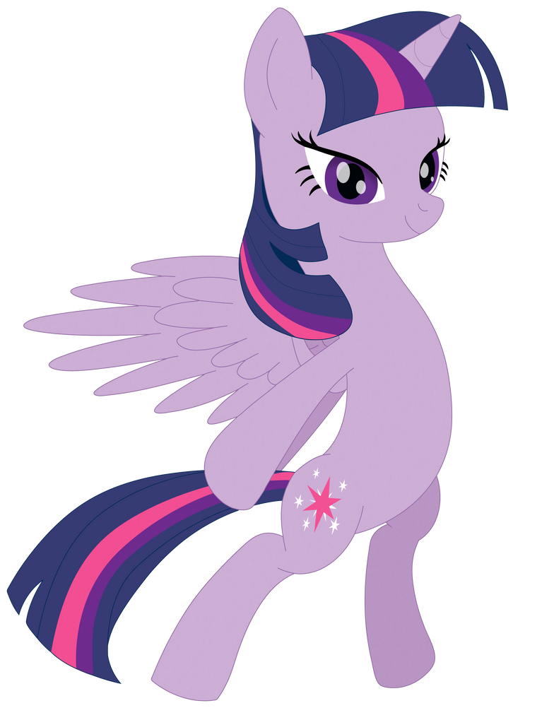 Alicorn Twilight Sparkle by Elsdrake