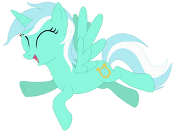 Alicorn Lyra Heartstrings by Elsdrake