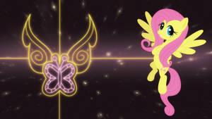 Fluttershy element wallpaper