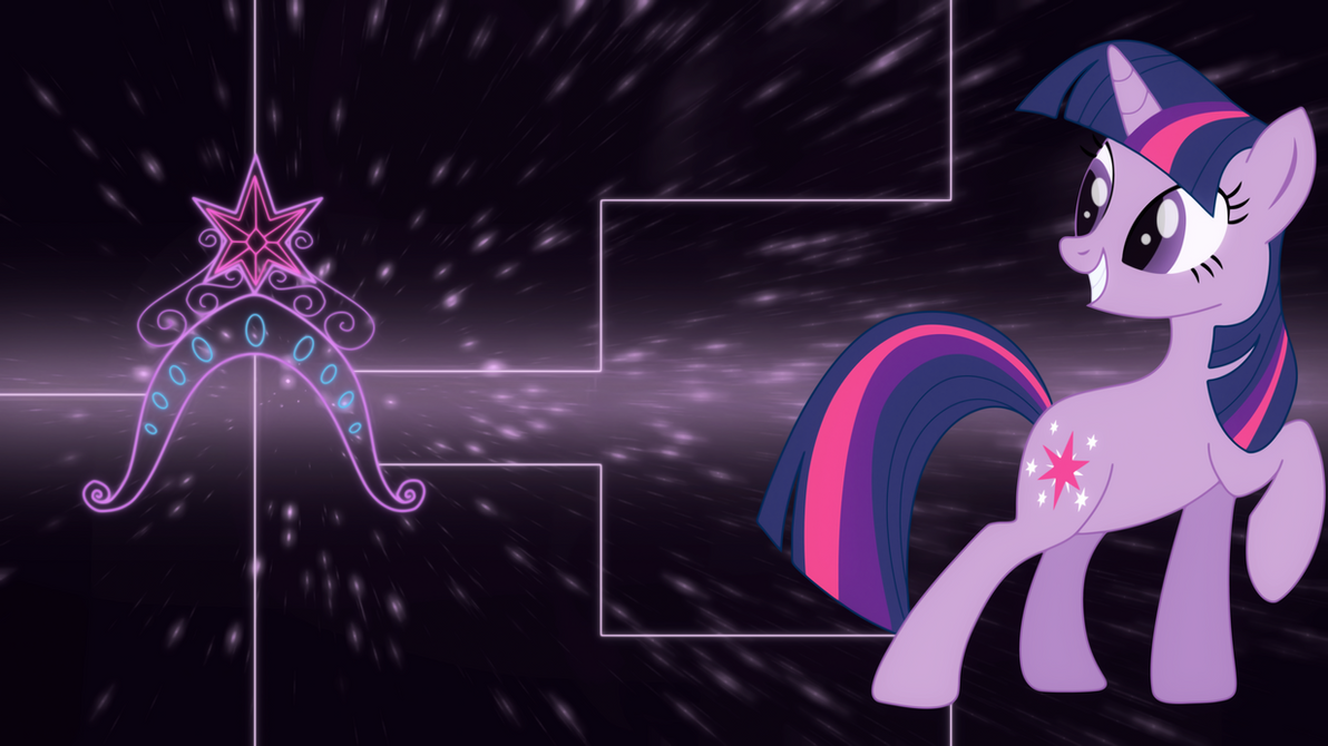 Twilight Sparkle element wallpaper by Elsdrake