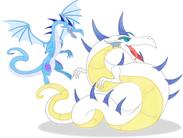 mlp dragons 2 by Elsdrake