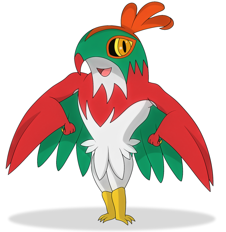 how to draw a hawlucha