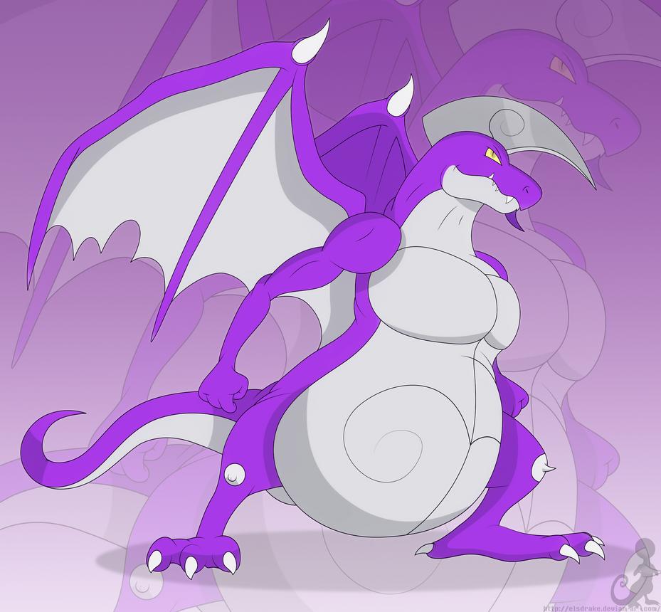 Spiral the dragon by Elsdrake on DeviantArt