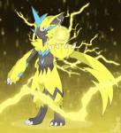Thunder cat, Zeraora
