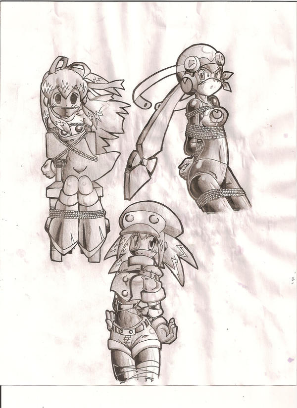 Roll Bound and Gagged by ~Anime-Gagged on deviantART