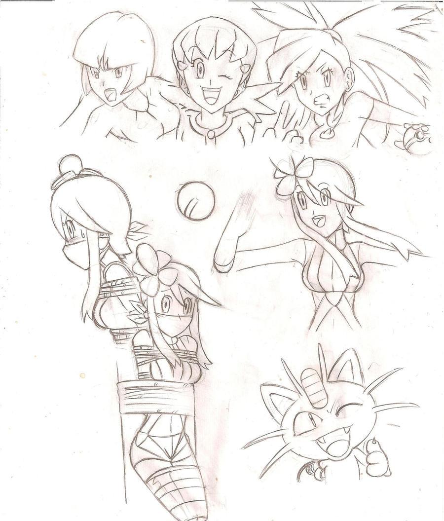 Skyla - Pokemon Black+White by Anime-Gagged