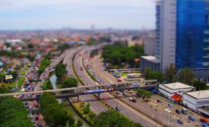 Jakarta Fake Tilt-Shift D-oh