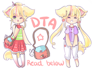 DTA cutie pup CLOSED by SparksTea