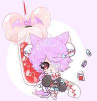 Kira kira chibu extra for Milkysou by SparksTea