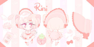 Smol ref sheet commission - Rinihimme
