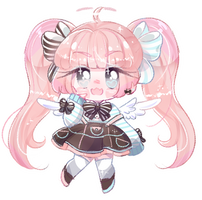 Soft crayon chibu for Eight-Legs by SparksTea