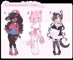 Kemonomimi cuties Adopts - Set price CLOSED