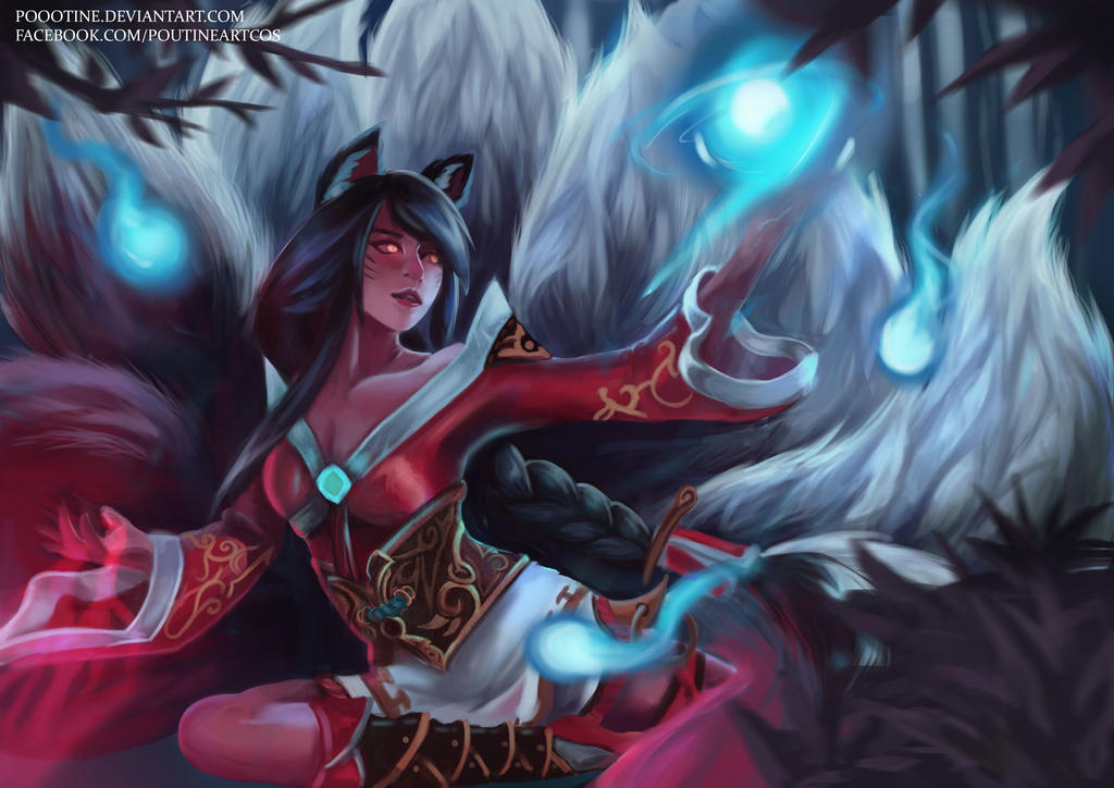 New Dawn Ahri - League of Legends by poootine on DeviantArt