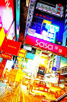 HK: The City of Neon Lights