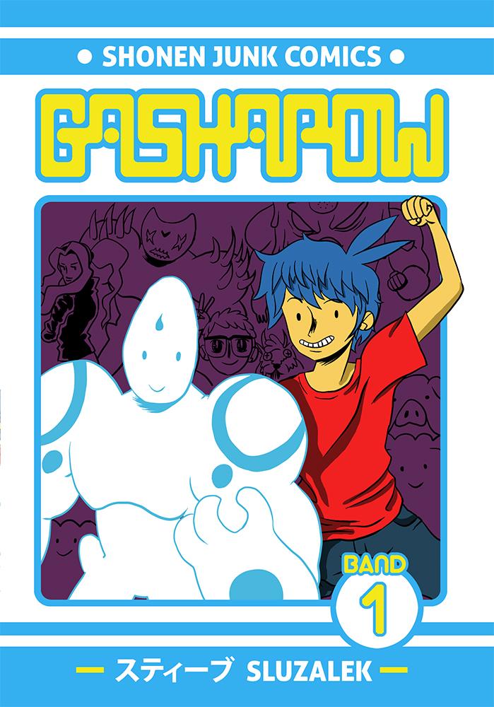 Gashapow Volume 1 Cover by Zero-Mecha