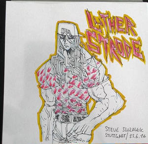 LUTHER STRODE SKETCH