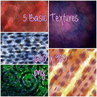 5 Basic Textures by Picandou