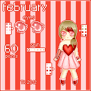 .: Pixel Adoptable - February :. {OPEN} by T-e-a-K-i-t-t-y