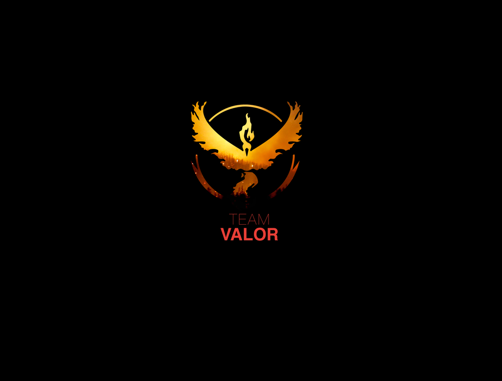 Team Valor Wallpaper (1 Of 2) By