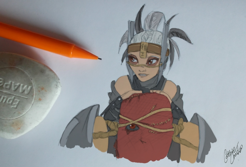 _ Ferra n Torr - doodle _ by Cathrie-Crash