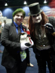 Joker and Pengy