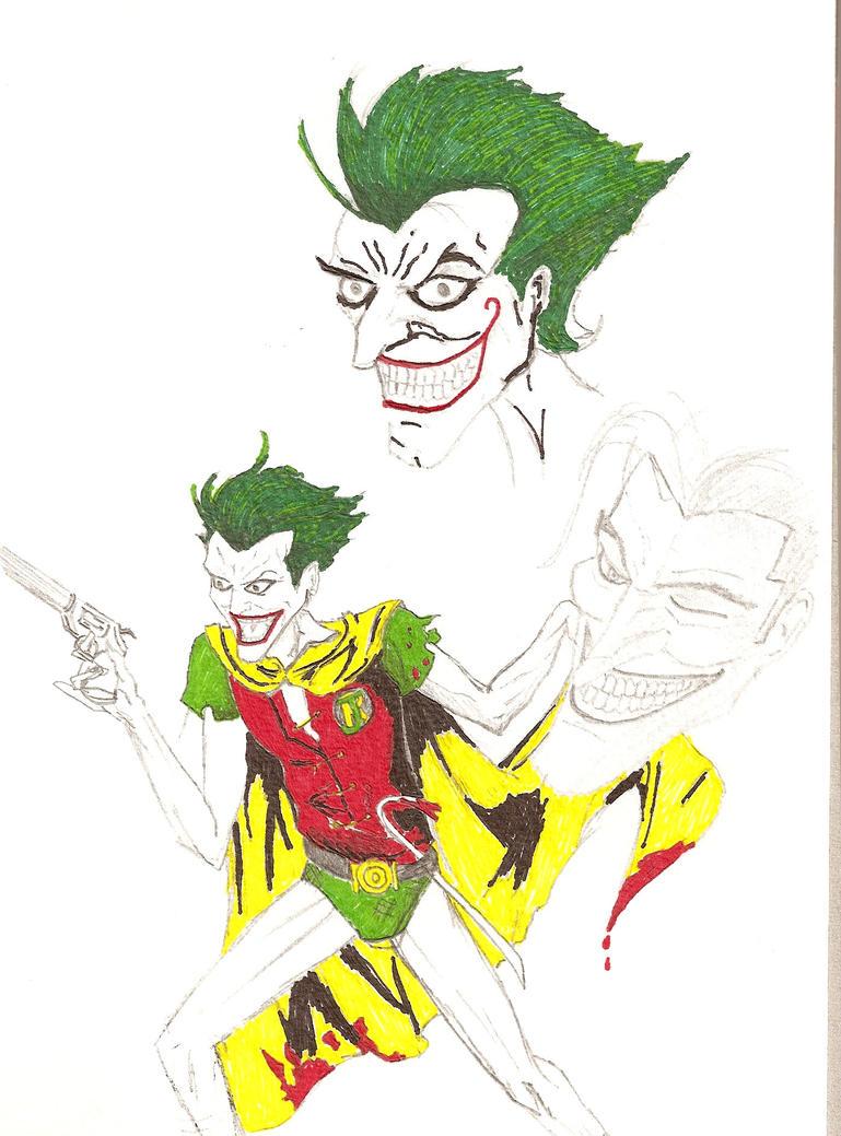 joker sketch 1 by kyo125